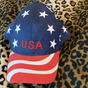 Free* hat with $15 purchase! Red white & blue USA